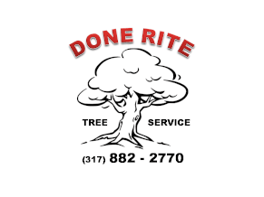 DONE RITE Tree Service Logo